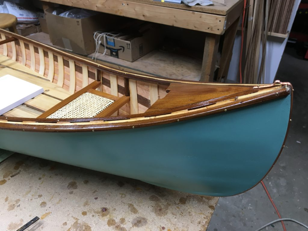 96 Quot Wood Strip Canoe Chandelier The Gran Daddy Of Them